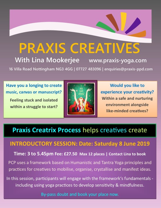Praxis Creatives 2019 Introduction Workshop